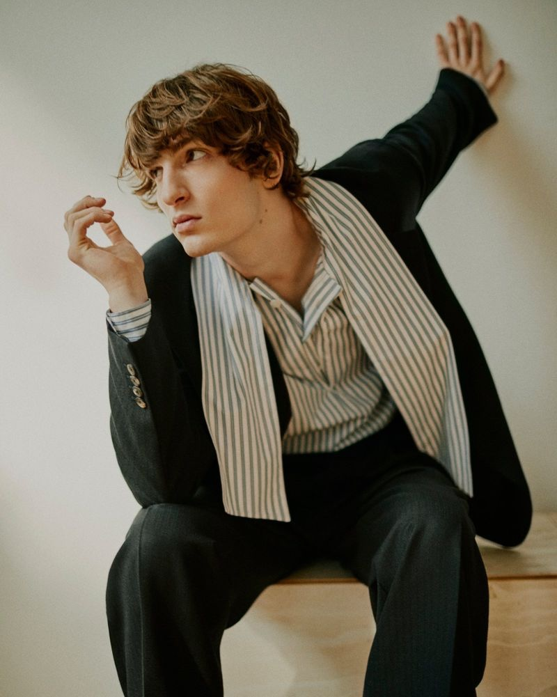 Ivan Sudati is a Chic Vision for GQ Brasil