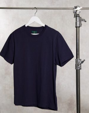 J Crew heritage jersey t-shirt-Navy