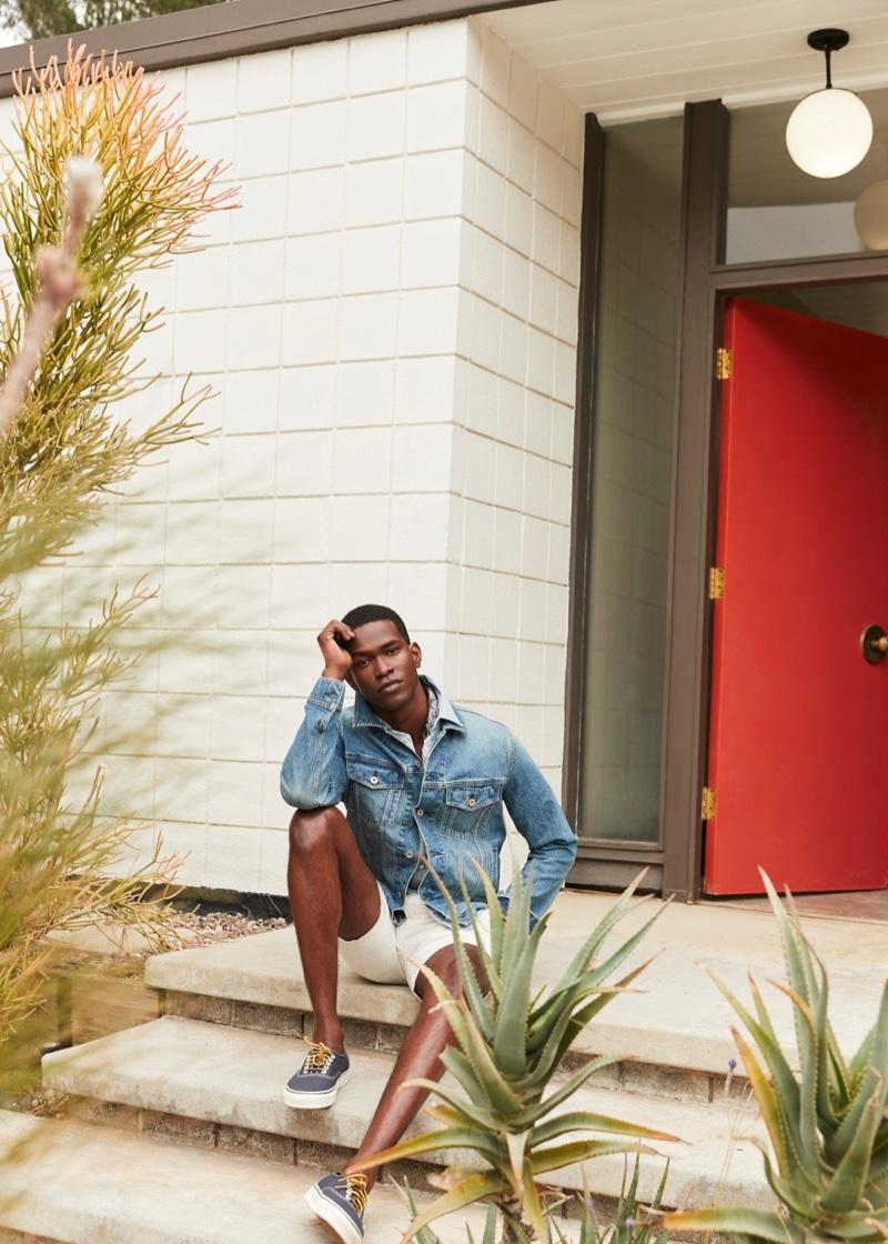 Miles McMillan & Salomon Diaz Embrace Spring Style from J.Crew