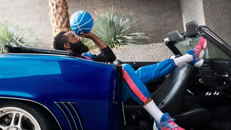 James Harden for Adidas