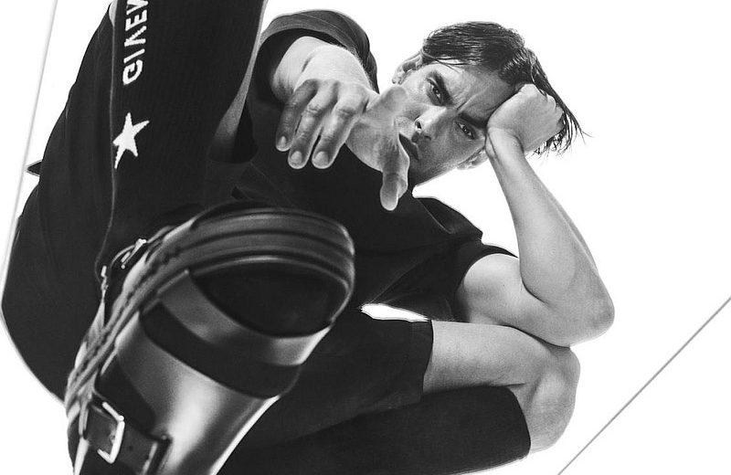 Jon Kortajarena Dons Black Looks for L'Officiel Hommes Italia