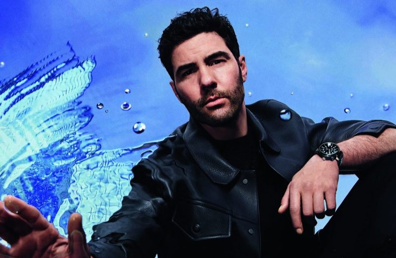Tahar Rahim fronts the Louis Vuitton Tambour Street Diver watch campaign.