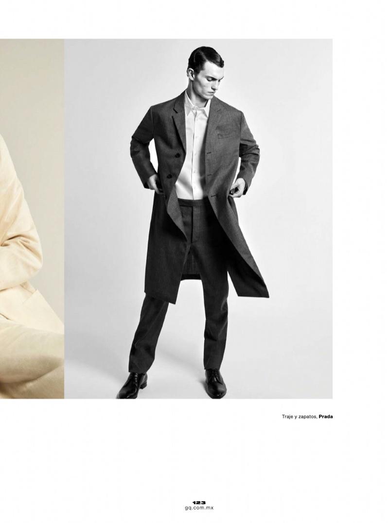 Luc Sports Sharp Tailoring for GQ México