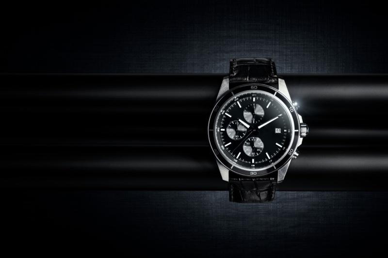 Luxury Watch Black Background
