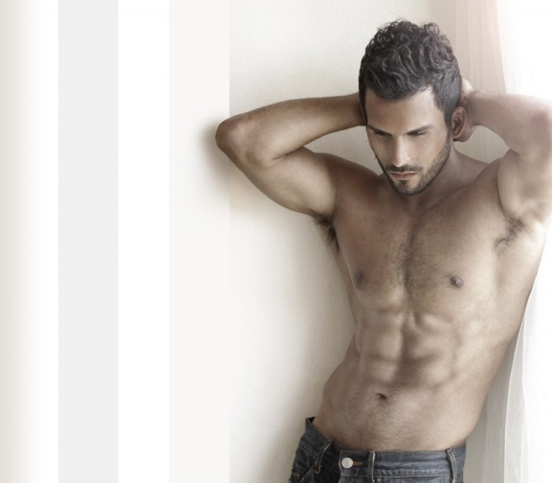 Male Model with Six Pack