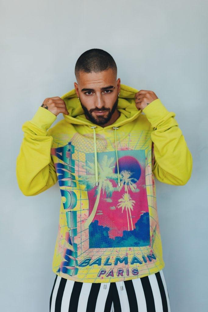 Maluma Brings Miami Vibe to Balmain Collaboration