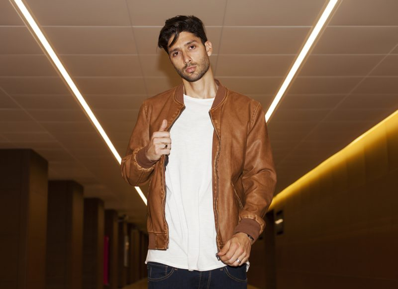 Man Leather Jacket Brown