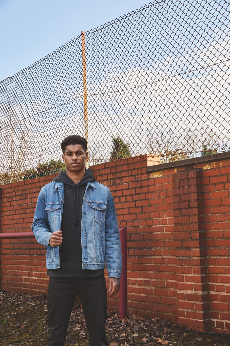 Levi's taps Marcus Rashford to star in its Buy Better, Wear Longer campaign.