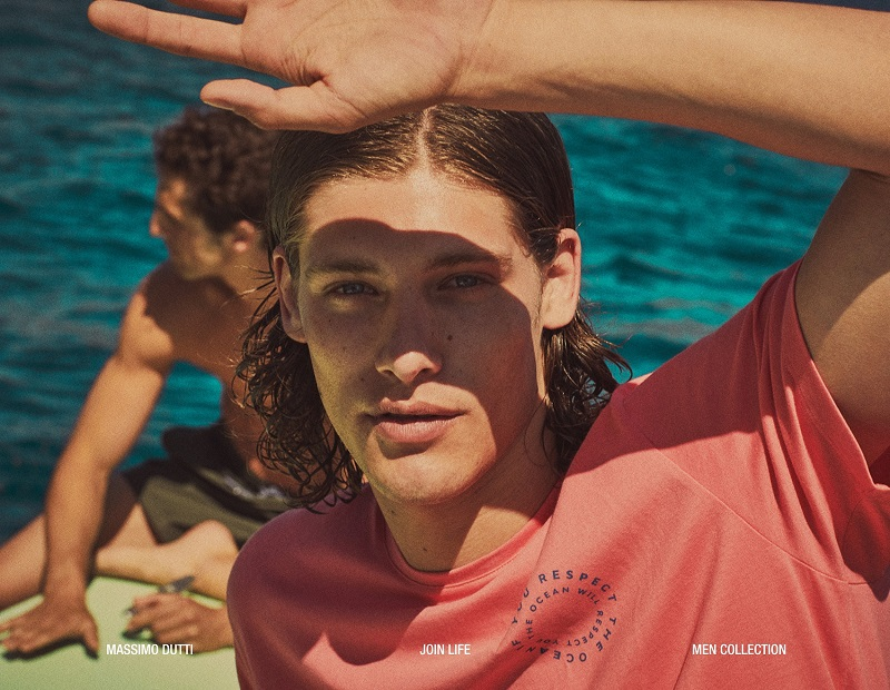 Join Life: Umberto & Alberto Model Massimo Dutti Swimwear Collection