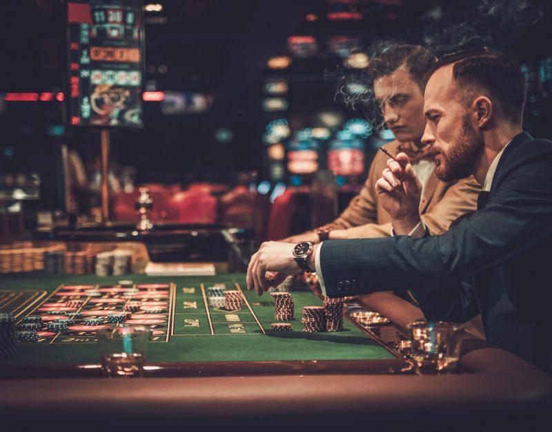 Men at Casino
