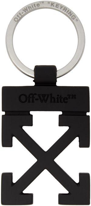 Off-White Black Arrows Keychain