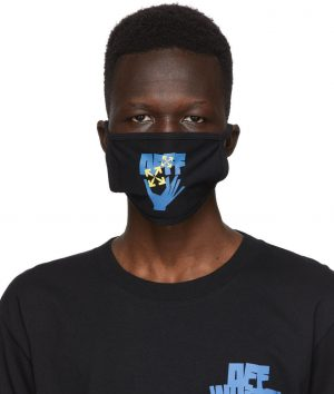Off-White Black Hands Arrows Mask