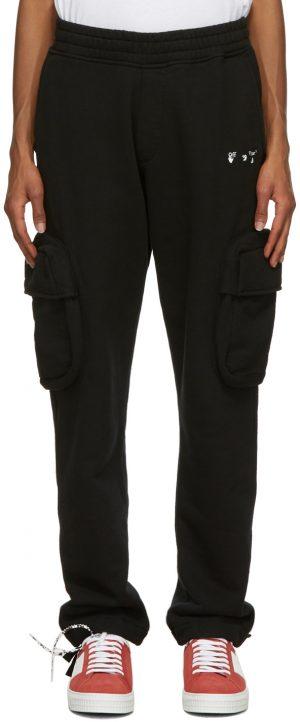 Off-White Black Logo Cargo Pants