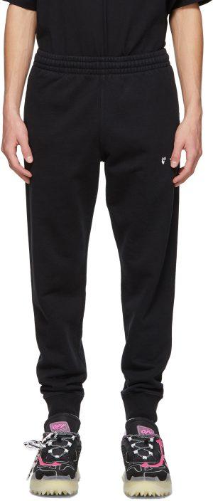 Off-White Black Logo Lounge Pants