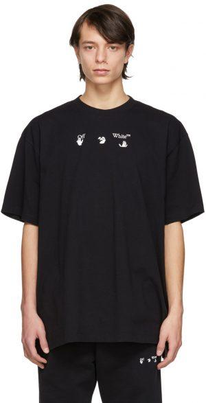Off-White Black 'Peace Worldwide' T-Shirt