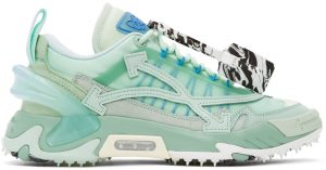 Off-White Green & Blue Odsy-2000 Sneakers