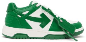 Off-White Green & White Out Of Office Sneakers
