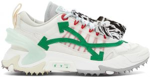 Off-White Off-White & Green Odsy-2000 Sneakers
