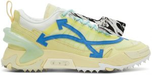 Off-White Yellow & Blue ODSY-2000 Sneakers