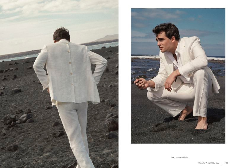 Pepe Barroso Travels to Lanzarote for Risbel Magazine
