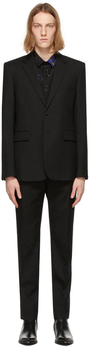 Saint Laurent Black Classic Suit