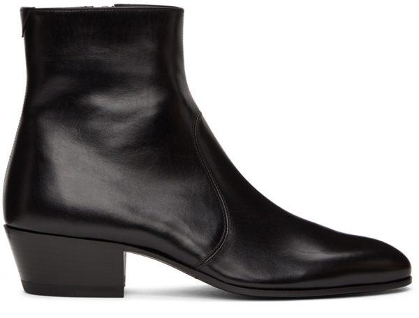 Saint Laurent Black Cole Boots