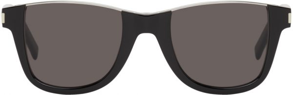 Saint Laurent Black SL 51 Cut-Away Sunglasses