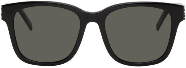 Saint Laurent Black SL M68 Sunglasses