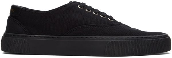 Saint Laurent Black Venice Sneakers