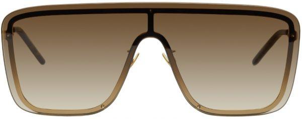 Saint Laurent Gold Mask SL 364 Sunglasses