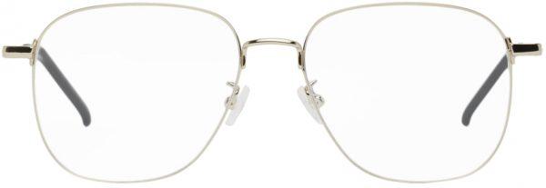 Saint Laurent Gold SL 391 Wire Glasses