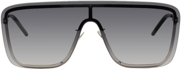 Saint Laurent Grey Mask SL 364 Sunglasses