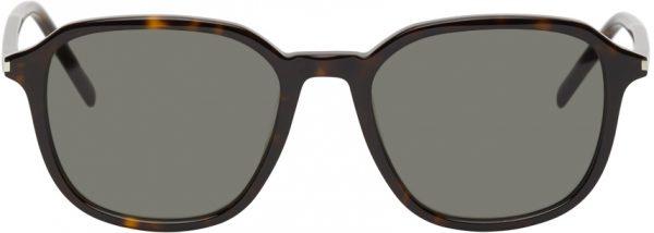 Saint Laurent Tortoiseshell SL 385 Sunglasses