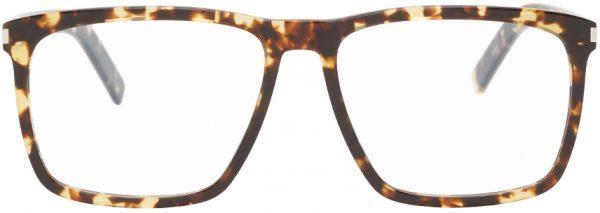Saint Laurent Tortoiseshell SL 435 Slim Glasses