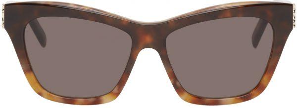 Saint Laurent Tortoiseshell SL M79 Sunglasses