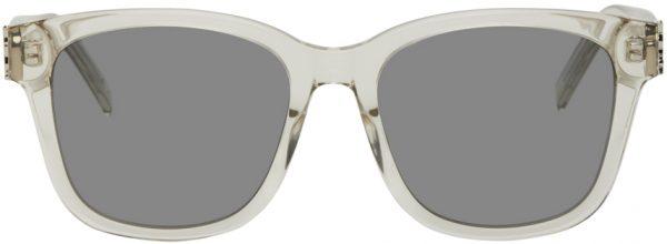 Saint Laurent Transparent SL M68 Sunglasses