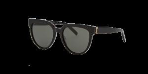 Saint Laurent Unisex YS000110 - Frame color: Black, Lens color: Grey-Black, Size 54-19/140