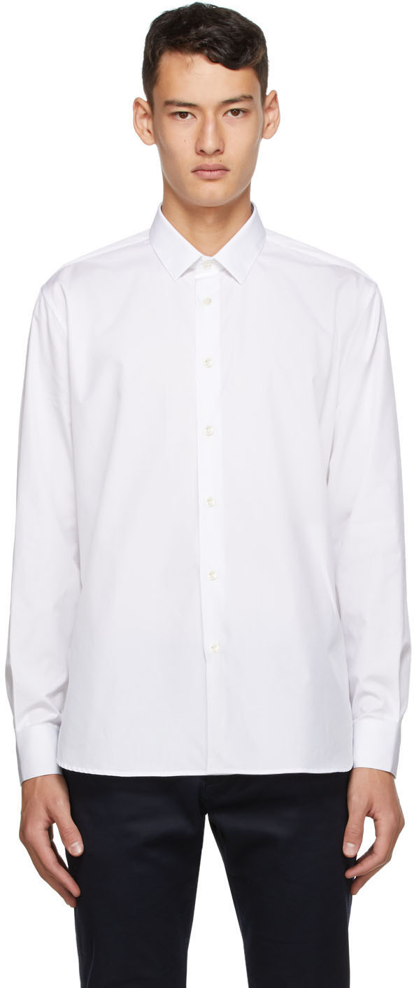 Saint Laurent White Classic Shirt