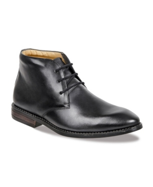 Sandro Moscoloni Men's Plain Toe Lace Chukka Boot Men's Shoes