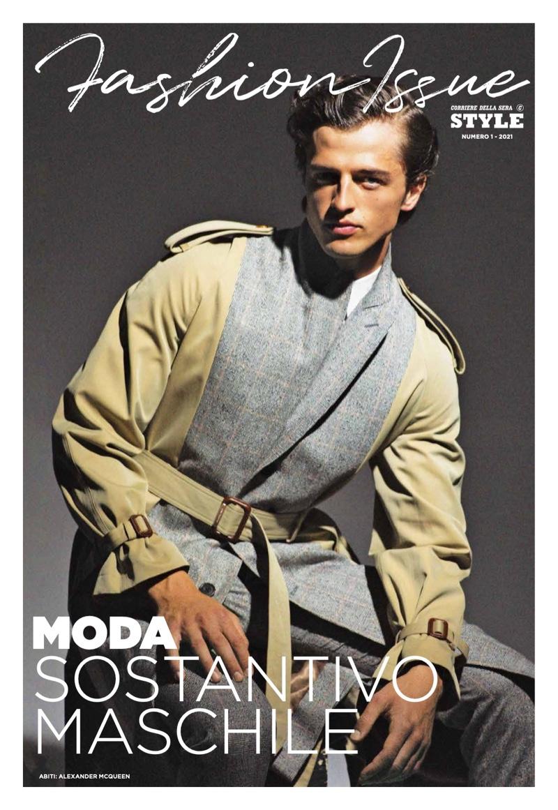 Alberto, Federico & Hidetatsu Tackle a Tailored Spring for Corriere della Sera Style