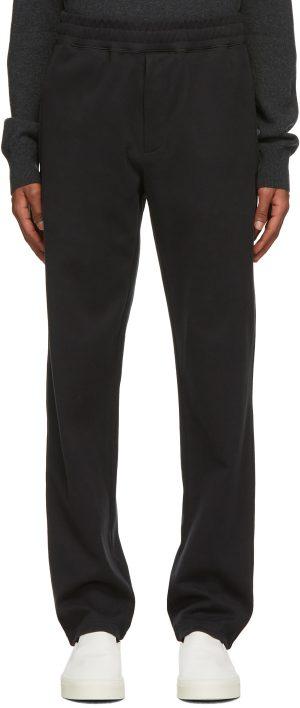 The Row Black Alvaro Lounge Pants