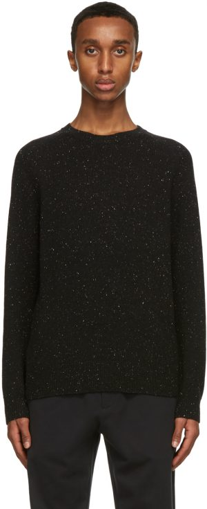 The Row Black Florian Sweater