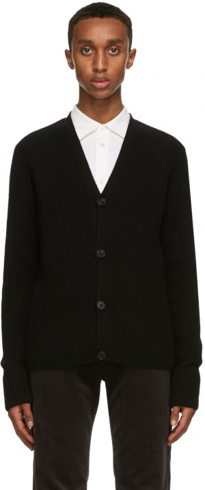 The Row Black Francois Cardigan