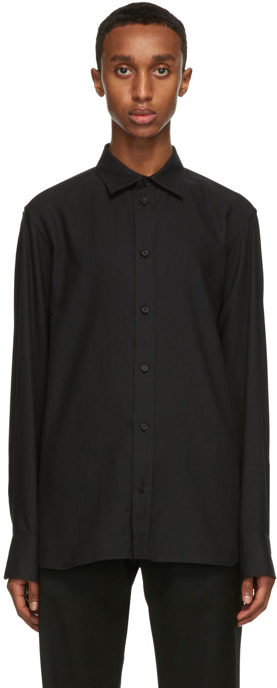The Row Black Robin Shirt