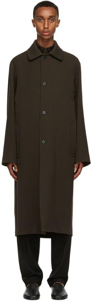 The Row Brown Rafi Coat