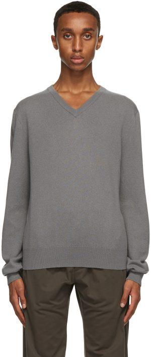 The Row Grey Mack Sweater