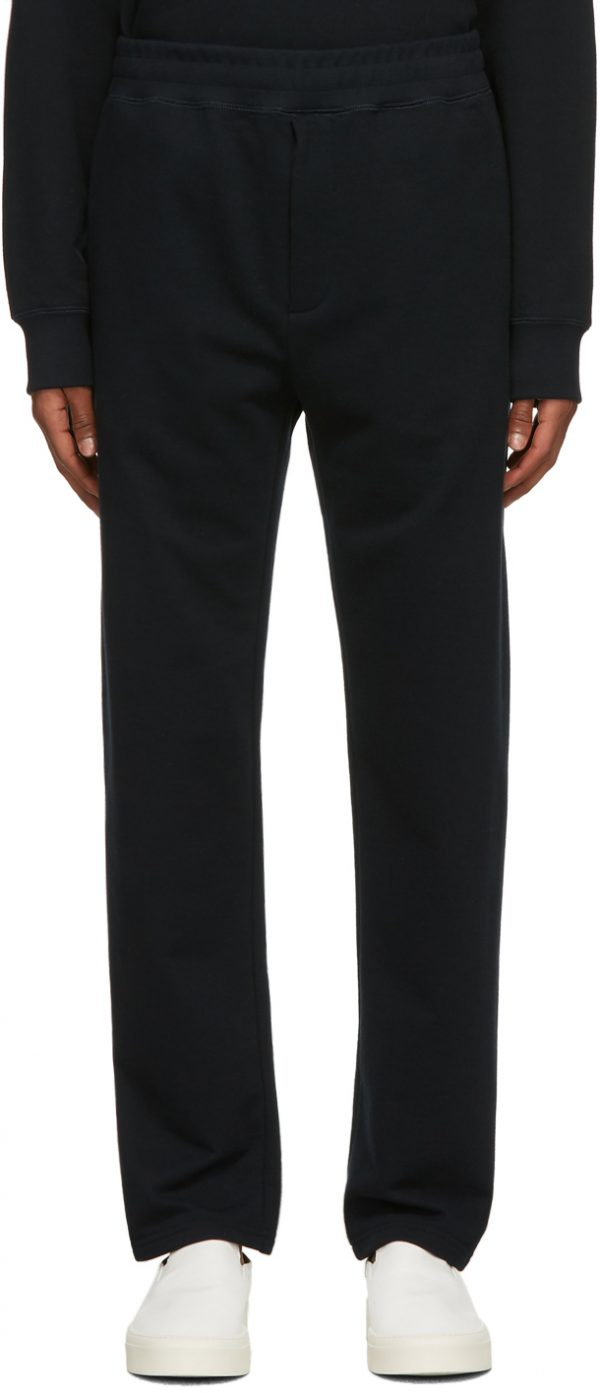 The Row Navy Ollie Lounge Pants