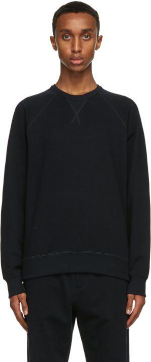 The Row Navy Sal Sweatshirt