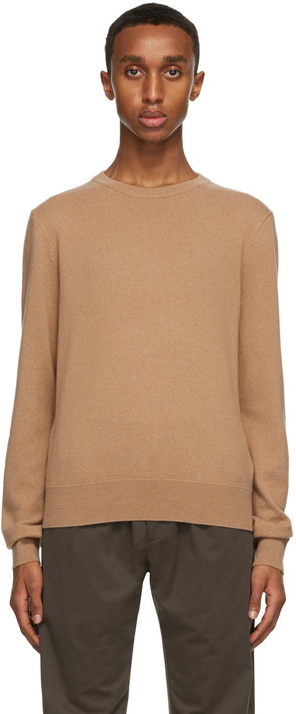 The Row Tan Benji Sweater