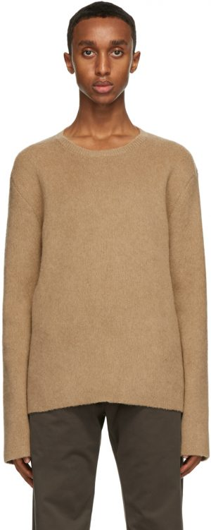 The Row Tan Salomon Sweater